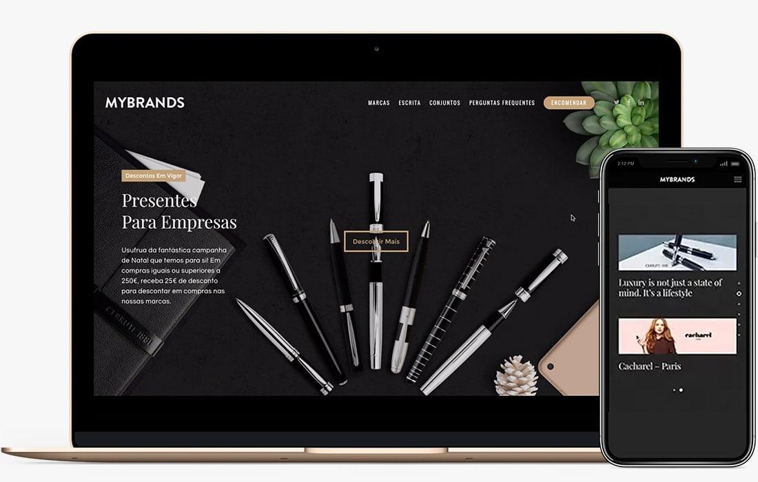 web design porto brands